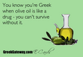 You know you're Greek... - greece photo
