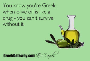 당신 know you're Greek...
