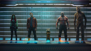 Guardians of the Galaxy First Official bức ảnh