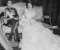 HIM The Shah of Iran and Soraya Esfandiary-Bakhtiari February 12, 1951