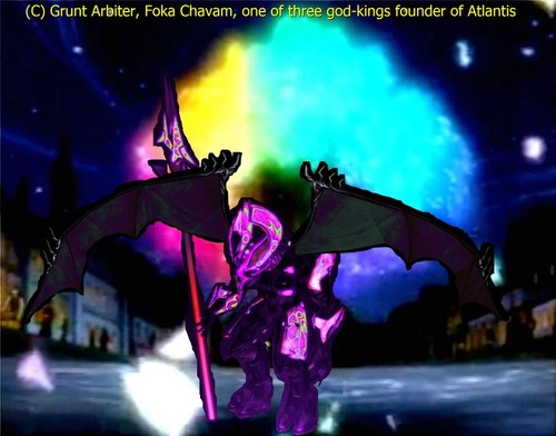 Halo wallpaper possibly with animê entitled God-King of Atlantis Foka Chavam (Honor Guard)