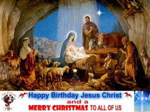 Happy Birthday Hesus Christ