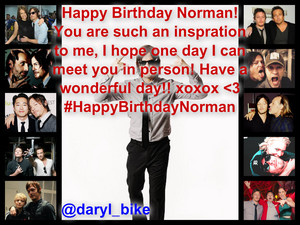 Happy Birthday Norman!!