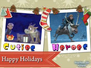 Happy Holidays Disney's Frozen<3