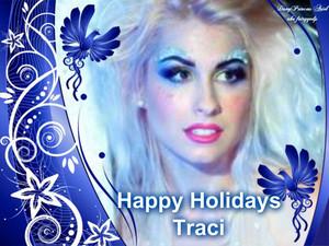 Happy Holidays Traci Hines