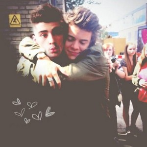 Zayn Malik and Harry Styles♥