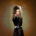 Bellatrix Lestrange - helena-bonham-carter fan art