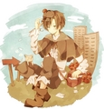 Romano      - hetalia fan art