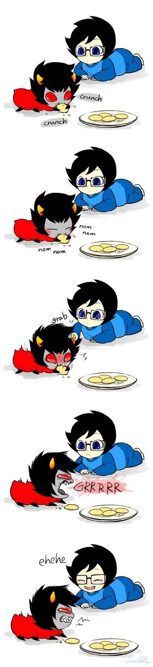 Baby John and Karkat Wiggler