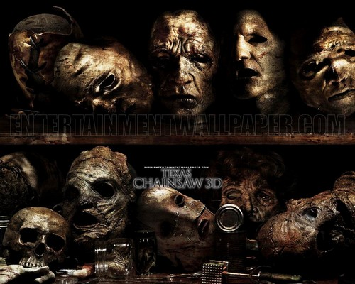Horrorfilme Hintergrund titled Texas Chainsaw 3D
