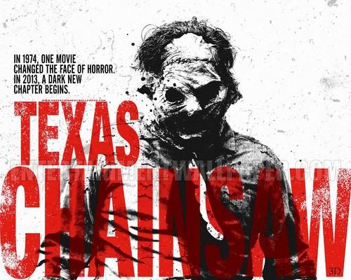 공포 영화 바탕화면 probably containing 아니메 called Texas Chainsaw 3D
