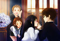 hyouka: Ты can't escape from me