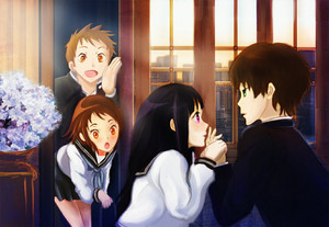 hyouka: You can't escape from me