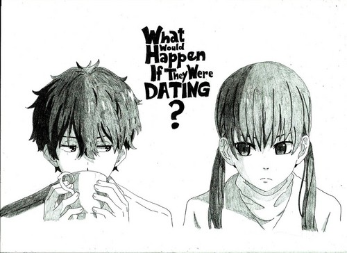 Hyouka 壁紙 containing アニメ titled what would happen