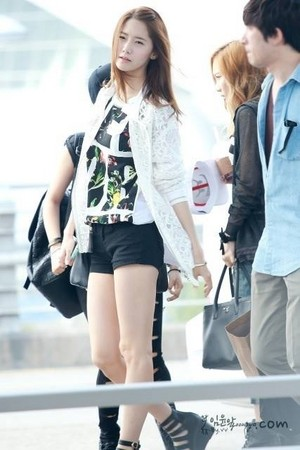 Yoona in Airport