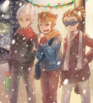 Axel,Mark,Jude
