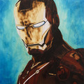 Wood Arts Intarsia Portraits – IRON MAN - iron-man photo