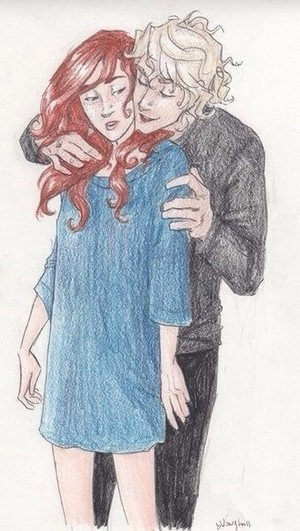 Jace and Clary ☜