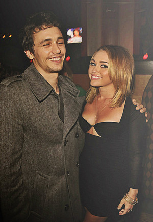james franco and miley cyrus