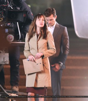 50 Shades of Grey 8th December Filming