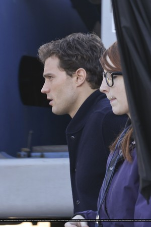 50 Shades of Grey 18th December Filming