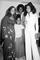 The Jackson Family With Actress, Linda Blair - janet-jackson photo