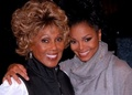 "Janet And ""Good Times"" Co-Star, Ja'Net DuBois - janet-jackson photo"