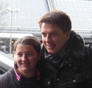 Me and John Barrowman!