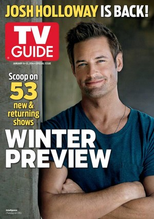 Josh is on the cover of the new TV Guide january 2014