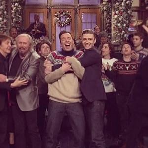 Justin & Jimmy Fallon - SNL Xmas special 2013
