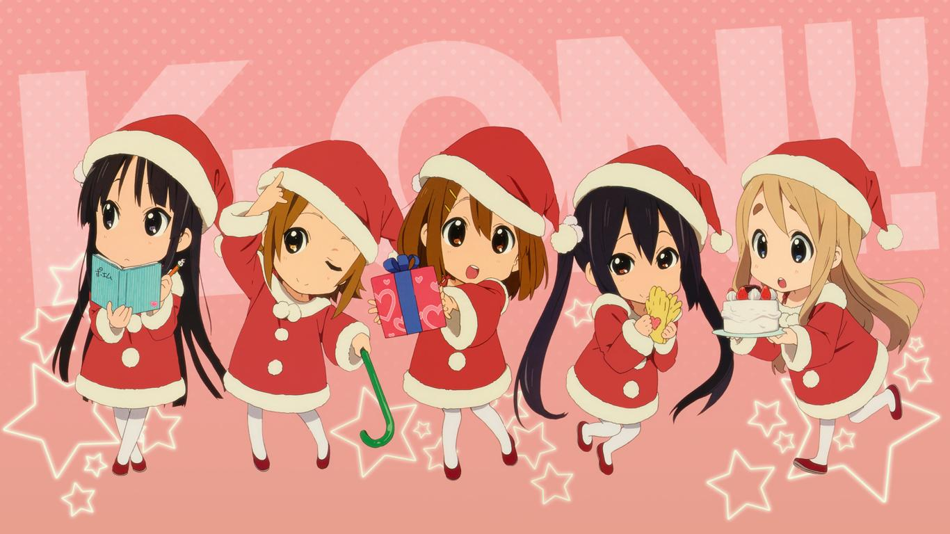 K-ON! images K-ON Christmas HD wallpaper and background photos ...