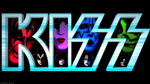 KISS wallpaper probably containing anime called KISS...Paul, Peter, Ace and Gene