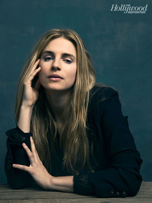 Brit Marling// The Hollywood Reporter
