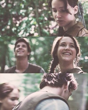 Katniss and Gale ♡