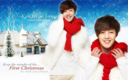 Kim Hyun Joong wallpaper possibly containing a portrait titled Happy new year KHJ fans :-)