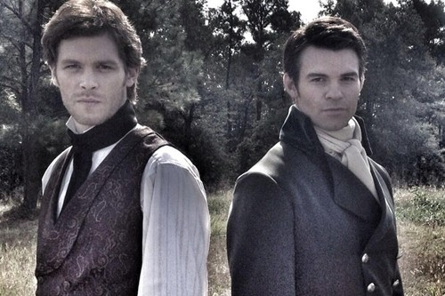 The Originals wallpaper titled Klaus & Elijah