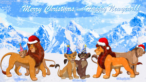 The Lion King Merry pasko Happy Newyear
