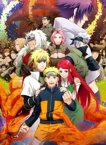 Kushina Uzumaki wallpaper probably containing anime titled Naruto Shippuden