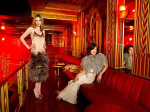 Laura Carmichael and Elizabeth McGovern for Grazia Magazine