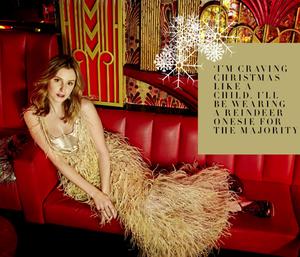 Laura Carmichael for Grazia Magazine