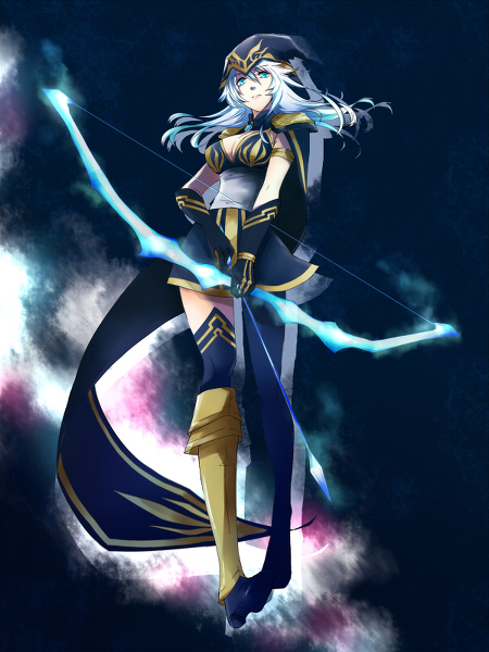 Ashe - League of Legends Fan Art (36364175) - Fanpop