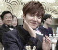 Lee Min Ho at the SBS Drama Awards - lee-min-ho wallpaper
