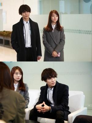 Cute Taemin in SBS Gayo Daejun Heir Parody