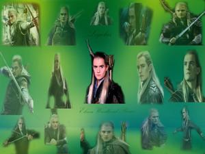 Legolas Elven Woodland Prince پیپر وال