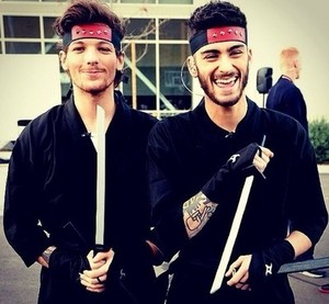 Louis and Zayn♥