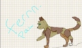 my fan character fernpaw see her story in discriptoin - make-your-own-warrior-cat photo