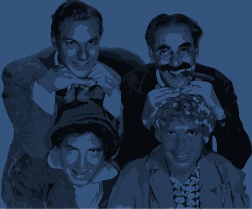 Marx Brothers Hintergrund titled Marx Brothers