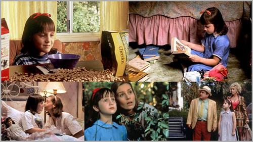 Matilda achtergrond entitled Matilda collage