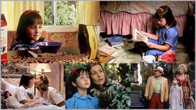 Matilda collage