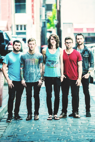 Mayday Parade fond d'écran possibly containing a rue and a business suit titled Mayday Parade